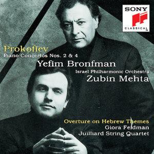 Yefim Bronfman, Israel Philharmonic Orchestra, Zubin Mehta 歌手頭像