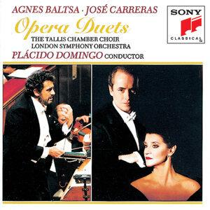 Agnes Baltsa, José Carreras, Tallis Chamber Choir, London Symphony Orchestra, Plácido Domingo 歌手頭像