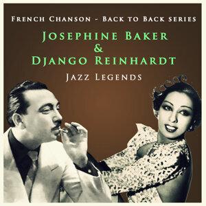 Django Reinhardt & Josephine Baker 歌手頭像