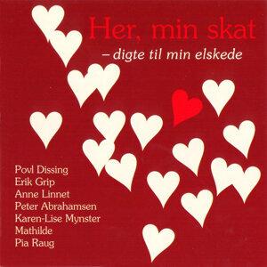 Anne Linnet, Poul Dissing, Erik Grip m.fl. 歌手頭像