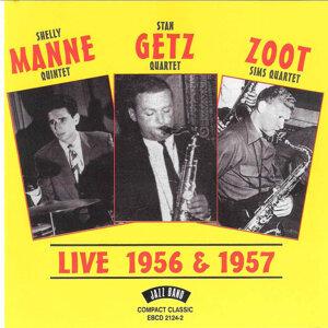 Stan Getz Quartet, Shelly Manne Quintet & Zoot Sims Quartet 歌手頭像