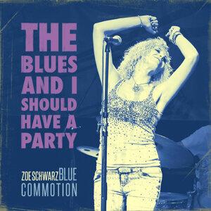 Zoe Schwarz Blue Commotion