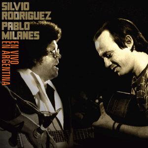 Silvio Rodríguez y Pablo Milanés