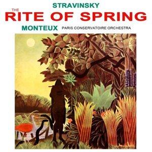 The Paris Conservatoire Orchestra, Pierre Monteux 歌手頭像