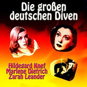 Hildegard Knef|Marlene Dietrich|Zarah Leander 歌手頭像