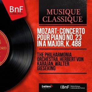 The Philharmonia Orchestra, Herbert von Karajan, Walter Gieseking 歌手頭像