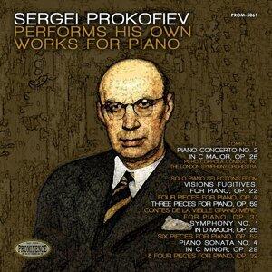 London Symphony Orchestra, Piero Coppola, Sergei Prokofiev 歌手頭像
