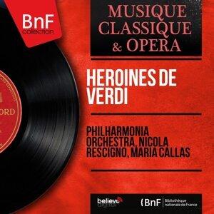 Philharmonia Orchestra, Nicola Rescigno, Maria Callas 歌手頭像