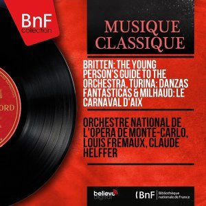 Orchestre national de l'Opéra de Monte-Carlo, Louis Frémaux, Claude Helffer 歌手頭像