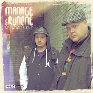 Manage, Runone 歌手頭像