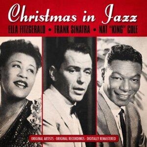 "Ella Fitzgerald, Frank Sinatra, Nat ""King"" Cole 歌手頭像"