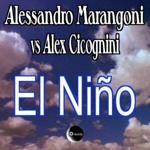 Alessandro Marangoni, Alex Cicognini 歌手頭像