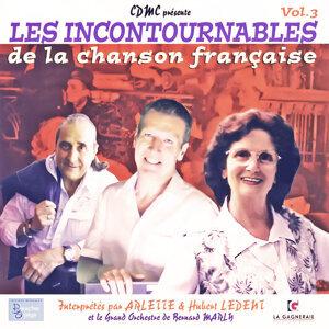 Arlette, Bernard Marly, Hubert Ledent 歌手頭像