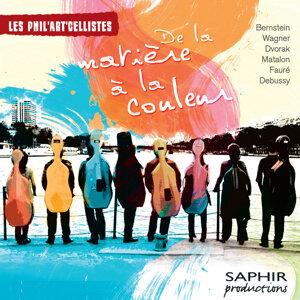 Les Phil'Art'Cellistes 歌手頭像