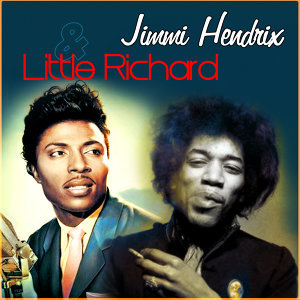 Jimi Hendrix and Little Richard