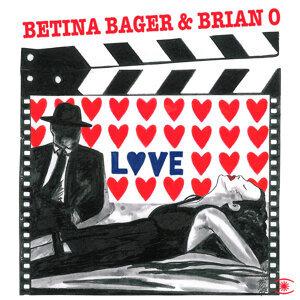 Betina Bager og Brian O
