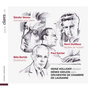 Heinz Holliger, Dénes Várjon, Orchestre de Chambre de Lausanne 歌手頭像
