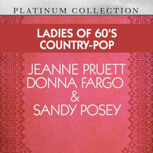 Jeanne Pruett, Donna Fargo, Sandy Posey 歌手頭像