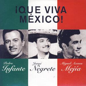 Pedro Infante|Jorge Negrete|Miguel Aceves Mejía 歌手頭像