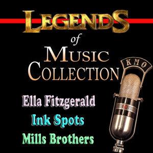 Ella Fitzgerald Ink Spots Mills Brothers 歌手頭像