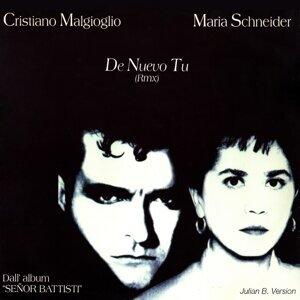 Maria Schneider, Cristiano Malgioglio 歌手頭像