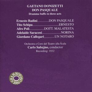 Ernesto Badini, Tito Schipa, Orchestra e Coro del Teatro alla Scala di Milano & Carlo Sabajno 歌手頭像