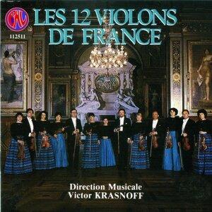 Les Douze Violons de France, Victor Krasnoff 歌手頭像