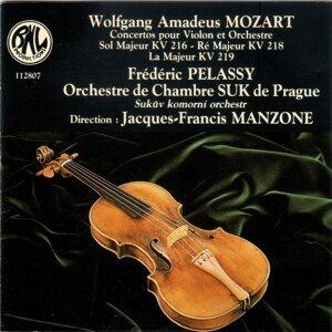 Orchestre de Chambre Suk de Prague, Jacques-Francis Manzone, Frédéric Pélassy 歌手頭像
