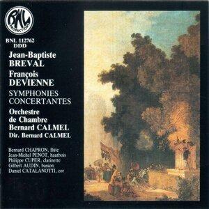 Orchestre de Chambre Bernard Calmel, Bernard Calmel, Bernard Chapron, Jean-Michel Penot, Philippe Cuper, Gilbert Audin, Daniel Catalanotti 歌手頭像