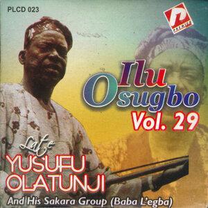 Late Yusufu Olatunji And His Sakara Group (Baba L'egba) 歌手頭像