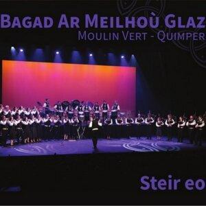 Bagad Ar Meilhou Glaz (Moulin Vert - Quimper)
