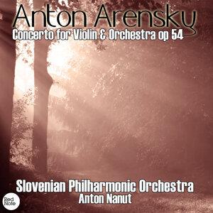 Slovenian Philharmonic Orchestra, Anton Nanut 歌手頭像