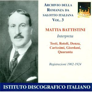 Mattia Battistini 歌手頭像