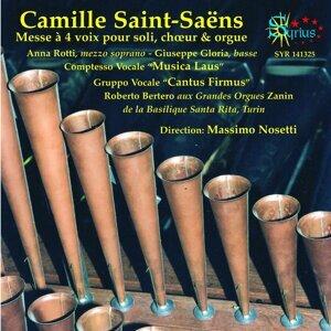 """Comptesso Vocale """"Musica Laus"""" Gruppo Vocale """"Cantus Firmus"""", Massimo Nosetti 歌手頭像"""