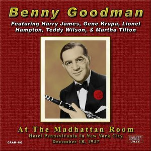 Benny Goodman, Benny Goodman & His Orchestra, Martha Tilton 歌手頭像