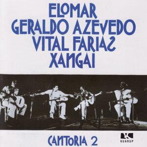Elomar, Geraldo Azevedo, Vital Farias, Xangai 歌手頭像