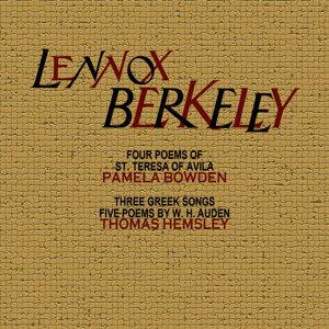 Lennox Berkeley 歌手頭像