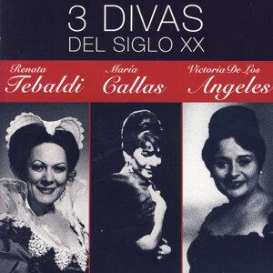 Renata Tebaldi|María Callas|Victoria De Los Angeles 歌手頭像