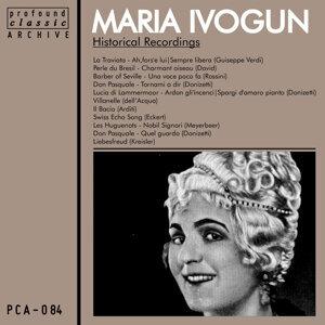 Maria Ivogun 歌手頭像