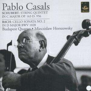 Pablo Casals, Budapest String Quartet & Myeczislaw Hoeszowski 歌手頭像