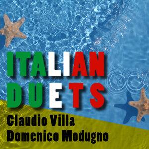 Claudio Villa|Domenico Modugno 歌手頭像