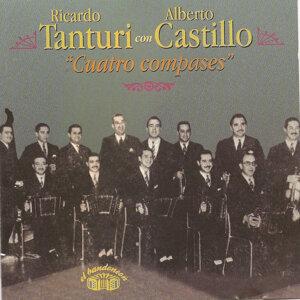 Ricardo Tanturi con Alberto Castillo