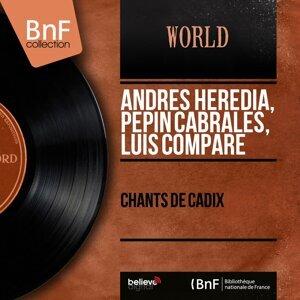 Andrès Heredia, Pepin Cabrales, Luis Compare 歌手頭像