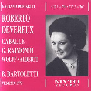 Montserrat Caballé, Gianni Raimondi, Beverly Wolff, Walter Alberti, Guido Fabbris, Orchestra e Coro del Teatro La Fenice, Bruno Bartoletti 歌手頭像