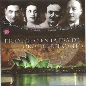 Tito Schipa, Amelita Galli, Curci, Giuseppe De Luca, Enrico Caruso 歌手頭像