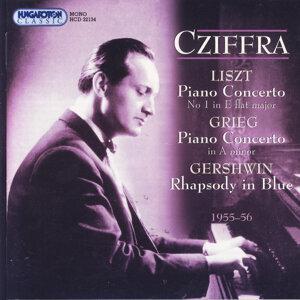György Cziffra, Budapest Symphony Orchestra , György Lehel, Hungarian State Orchestra, Zlotán Rozsnyai 歌手頭像