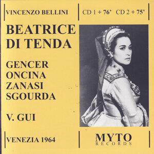 Leyla Gencer, Mario Zanasi, Antigone Sgourda, Juan Oncina, Mario Guggia, Orchestra e Coro del Teatro La Fenice di Venezia, Vittorio Gui 歌手頭像