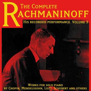 Sergei Vassilievich Rachmaninov 歌手頭像