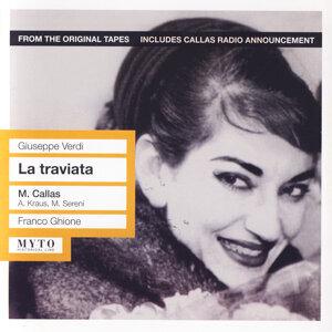 Maria Callas, Alfredo Kraus, Mario Sereni, Coro do Teatro Nacional de São Carlos, Orquestra Sinfónica Nacional, Mario Pellegrini, Carlo Pasquali, Franco Ghione 歌手頭像