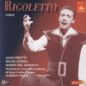 Aldo Protti, Hilde Güden, Mario Del Monaco, Orchestra & Coro dell'Accademia di Santa Cecilia di Roma & Alberto Erede 歌手頭像